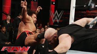 Rusev dismantles Erick Rowan: Raw, February 2, 2015