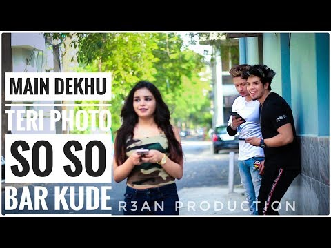Luka Chuppi: Photo Song   Main Dekhu Teri Photo So So Bar Kude Full Video   R3an Production   Love
