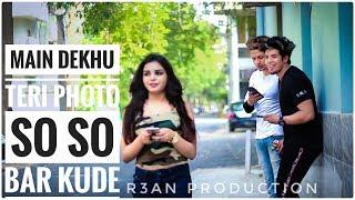 Download lagu Luka Chuppi: Photo Song   Main Dekhu Teri Photo So so Bar Kude Full Video   R3an Production   love