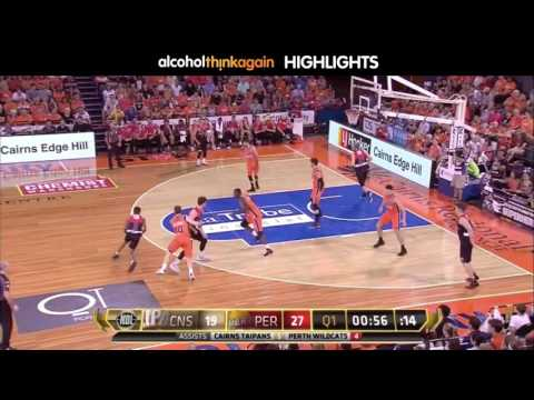 Perth Wildcats @ Cairns Taipans Highlights - 17 February 2017