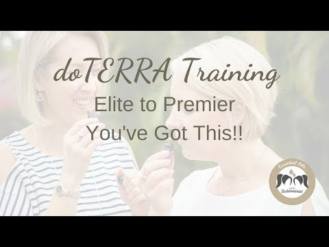 doTERRA Elite Training - Ready To Reach Premier?