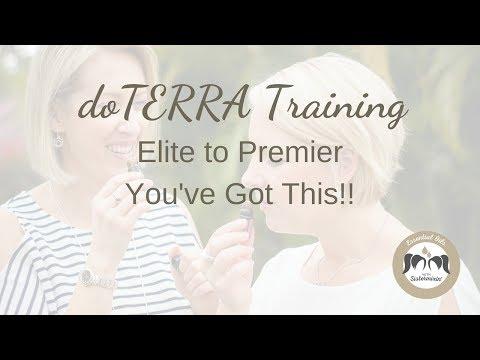 doTERRA Elite Training - Ready To Reach Premier?