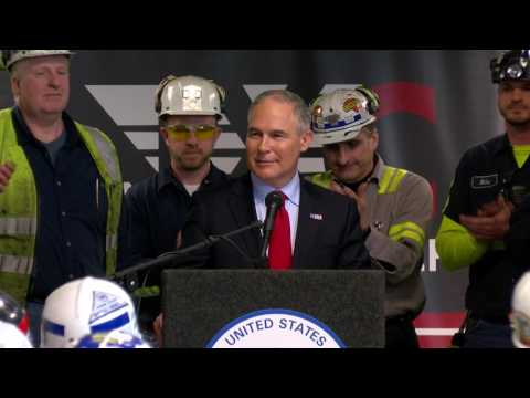 EPA Launches Back-To-Basics Agenda at Pennsylvania Coal Mine