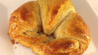 Buttery And Flakey Croissants Recipe
