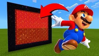 How To Make A Portal To The Mario Dimension in Minecraft!