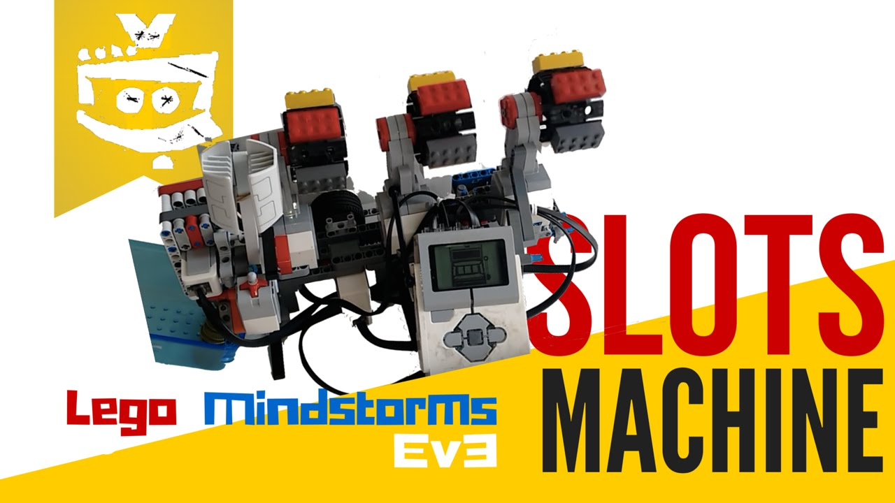 EV3 Slots Machine - Lego Mindstorms Creations - YouTube