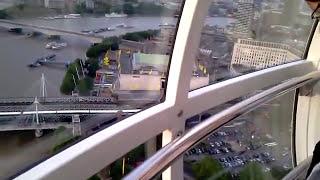 Inside London Eye 2010