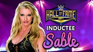 Sable joins the WWE Hall of Fame Class of 2017 - Custom