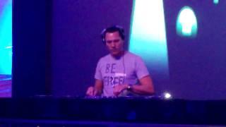 DJ Tiesto at Microsoft's Open House