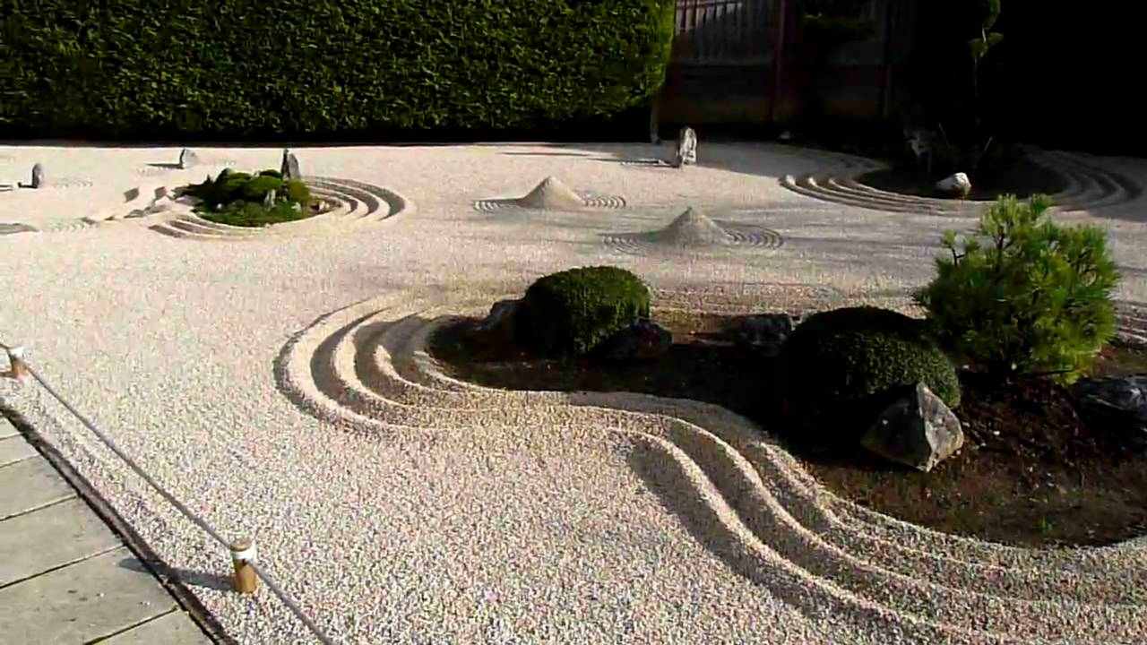 Jardin zen cote d 39 or france youtube for Jardins zens