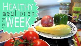 Meal Prep for the Week | Fajita Tacos | Chicken Salad