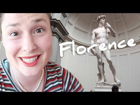 One Suitcase, Four Kids - Fast train to Florence & Michelangelo's David - Episode 14