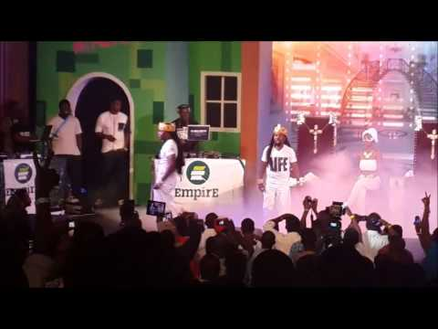 Highlights from Back in The Days concert feat Naughty By Nature, Reggie Rockstone, Obrafour