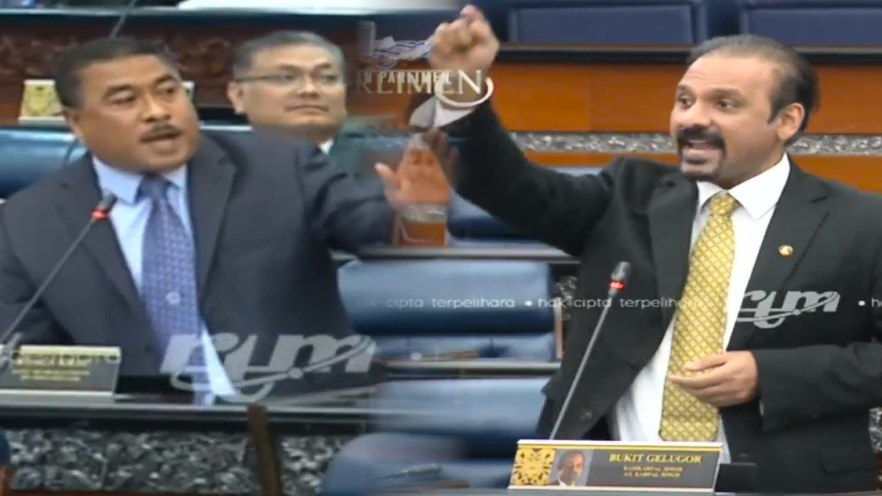 Pandemonium in Parliament during first debate session