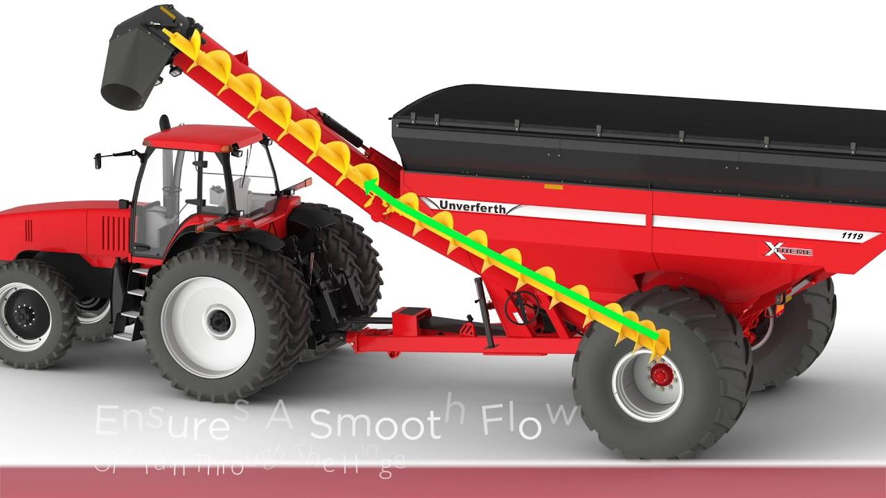 Unverferth 19-Series XTREME Front-Folding, Single-Auger Grain Carts