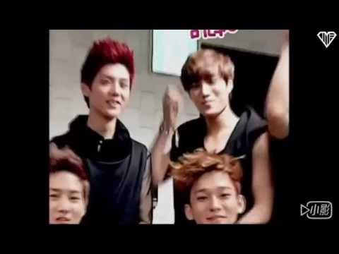Exo kai  habit of hitting the members when he's laughing