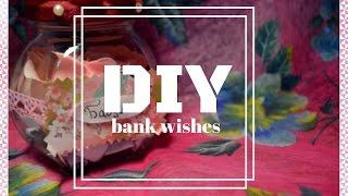 DIY // Банка с пожеланиями на день рождения ❤