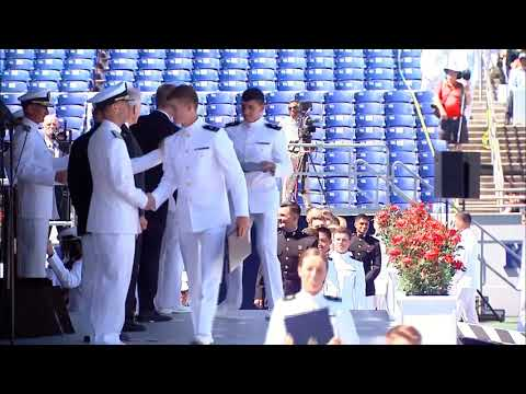 United States Naval Academy Commissioning Ceremony-2019 May 24-Top 100
