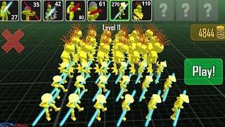 Stickman Simulator: Battle of Warriors Gameplay Walkthrough Part 4