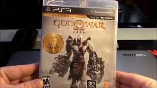 Unboxing GOD OF WAR SAGA Playstation 3 en Español