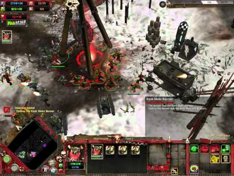 warhammer dawn of war winter assault playthrough part 2 |