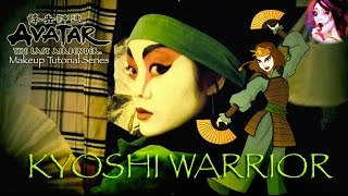 Kyoshi Warrior (Avatar) Makeup