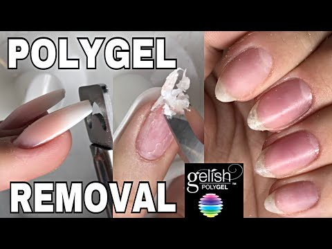 Polygel Removal Isabelmaynails Youtube