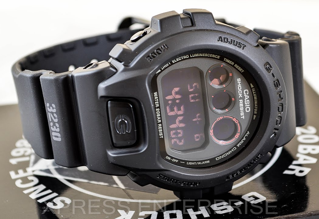 Casio Gshock Military Dw6900ms 1 Review How To Set Time Light