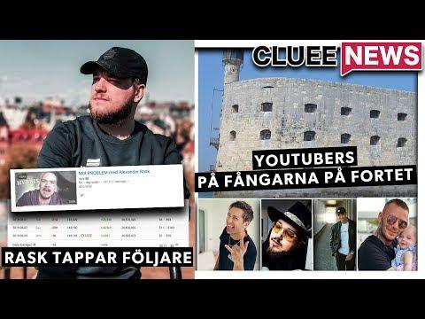 VIDEON SOM ALEXANDER RASK RADERADE! #Clueenews YOUTUBERS TAR ÖVER FÅNGARNA PÅ FORTET