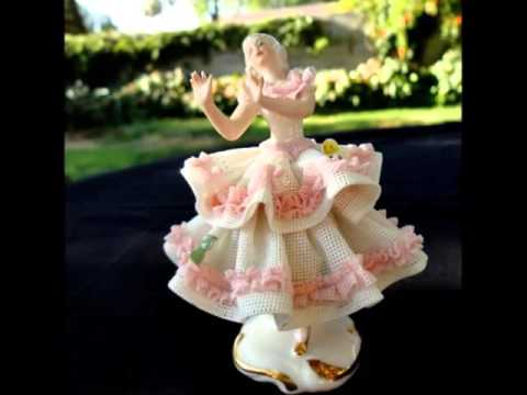 Classic Ceramic Ballerina Figurines | Picture Set Of Beautiful & Decor Work