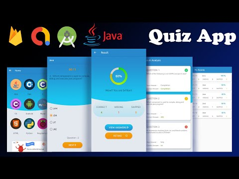 Android Quiz App With Firebase And Google AdMob [Source Code]