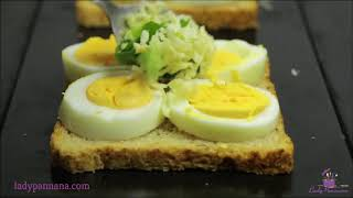 Easy Cooking Recipes-Baked Egg Cheese Toast