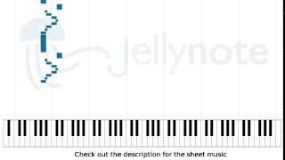 Dot Your Eyes - Five Finger Death Punch [Piano Sheet Music]