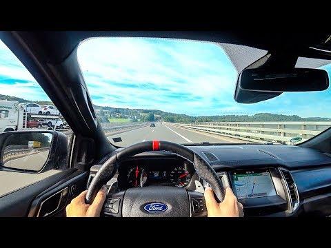 2019 Ford Ranger Raptor (213PS) POV DRIVE Onboard (60FPS)