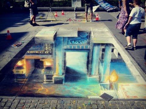 3D Street Art - Underground World