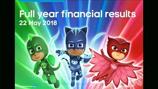 Entertainment One (ETO) Full year results presentation May 2018
