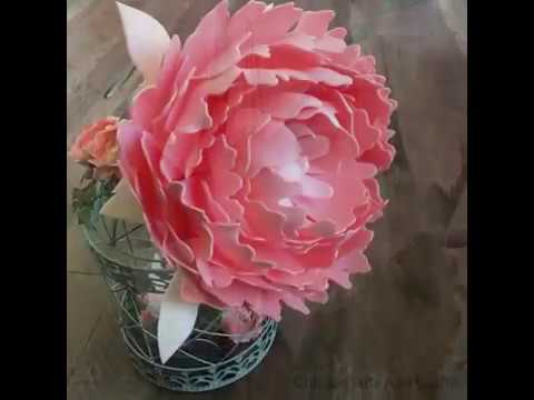 Foam Flowers Tutorial | DIY Peony Petals