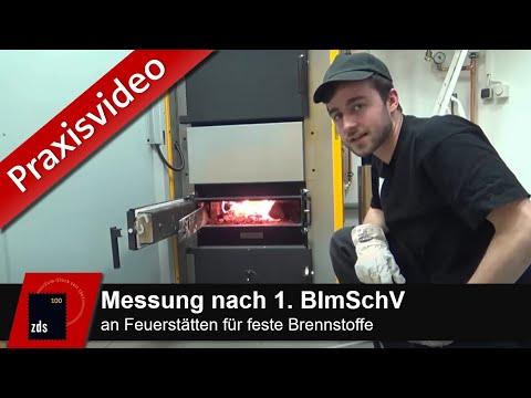 ZDS PRAXIS-VIDEO - Durchführung einer Messung an einer Feuerstätte für feste Brennstoffe