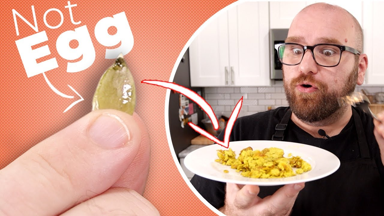 Turning PUMPKIN Seeds into an INCREDIBLE EGG Replacement!!!