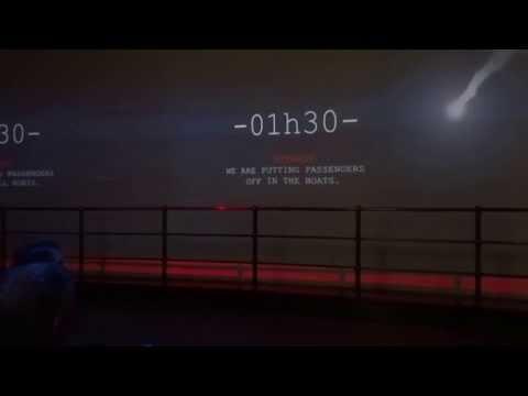 le naufrage du Titanic - cité de la mer - Cherbourg