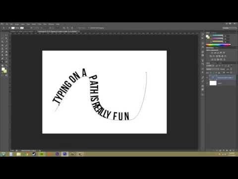 Photoshop CS6 Tutorial - 192 - Text Along a Path