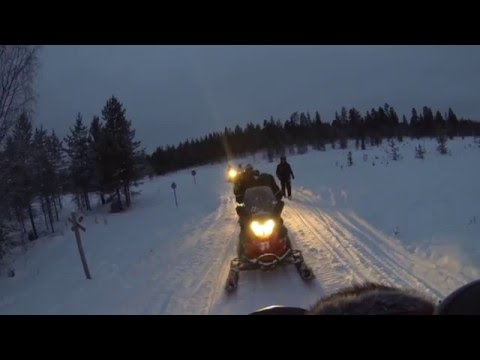 Honeymoon in Lapland