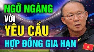 Ngỡ Ngàng Yêu Cầu Của HLV Park Hang-seo Khi Gia Hạn Hợp Đồng Với Đội Tuyển Việt Nam