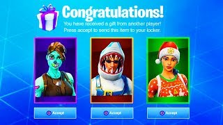 Fortnite GIFTING SYSTEM OFFICIAL RELEASE DATE! | Season 6 Battle Pass Soon!