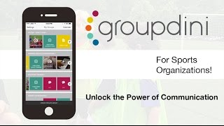 Groupdini for Sports Organizations