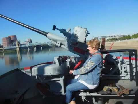 LST 325 in Cincinnati -  Sept 2015 - Special Tour