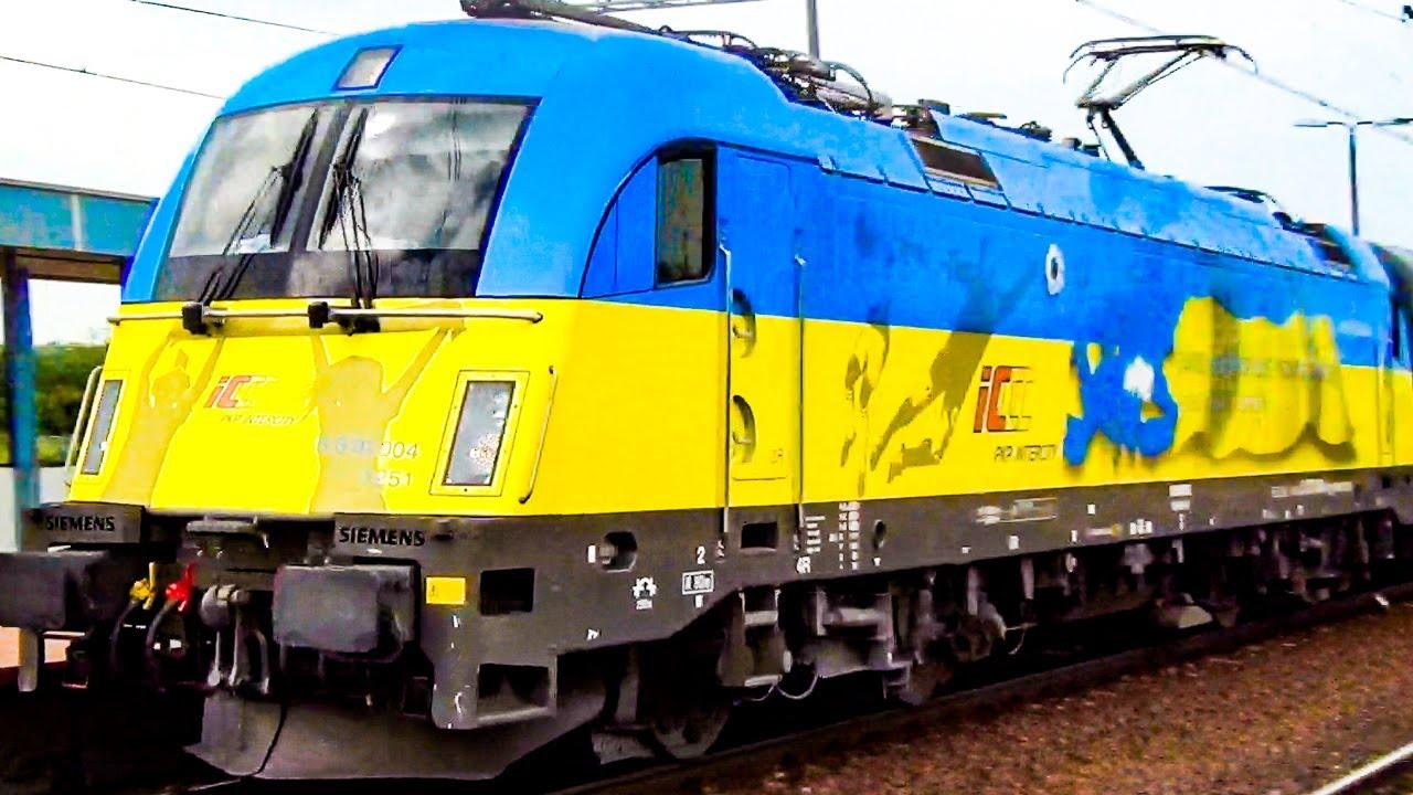 Locomotives for EURO 2012