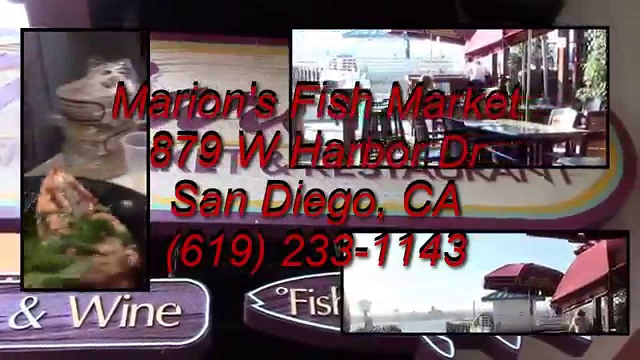 The talk of san diego marion 39 s fish market seaport for Fish market seaport village
