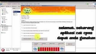 Video Cara Download & Install Software CAT CPNS - Resmi BKN download MP3, 3GP, MP4, WEBM, AVI, FLV Juli 2018