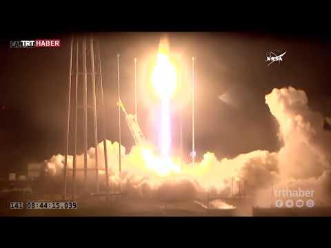 NASA'nın yeni kargo roketi fırlatıldı
